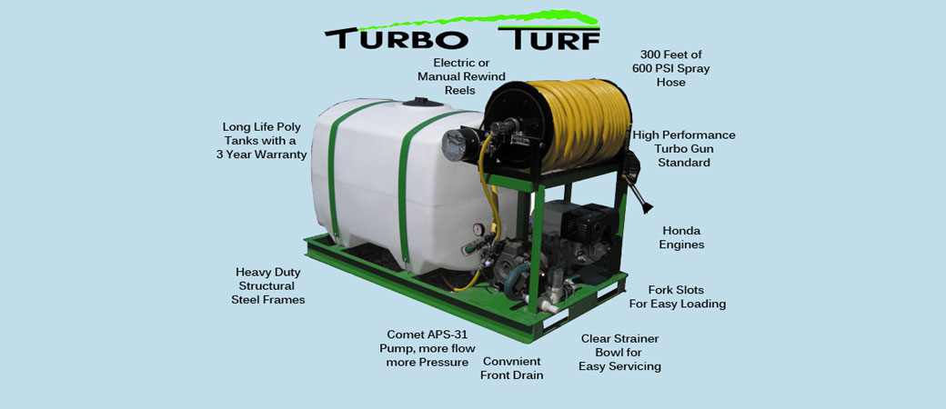 Turf Sprayers that are better built with more features and better performance S-200 shown